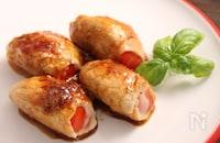 トマトのイタリアンチーズ肉巻