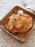りんごのヨーグルトパンケーキ