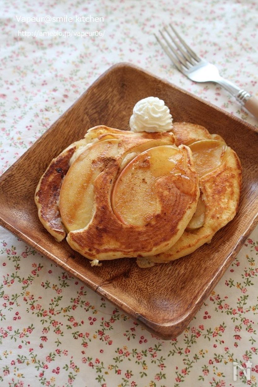 2. りんごのヨーグルトパンケーキ