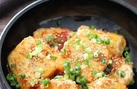 豆腐だけなのに立派なおかず♡豆腐のオイコチュマヨ照り焼き