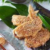 【名古屋風手羽先】揚げない鶏手羽先の甘辛焼き#作り置き