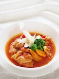 チキンと白菜のトマト煮込み