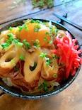 簡単おいしい♡しかも安い‼︎【牛丼風⁈ちくわたまご丼】