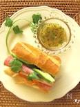 ベトナムのサンドイッチ☆バインミー☆