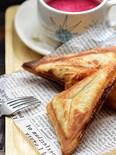 パンよりパイが好き♡朝ごはんやおやつに♪ホットパイサンド2種