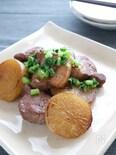 揚げ焼き5分でこっくり味!大根のバルサミコ酢煮