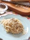 チーズのシンプル玄米パスタ