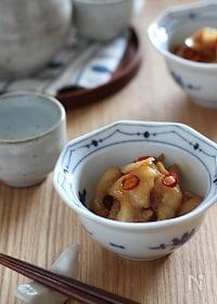 『生姜たっぷり!鶏皮の佃煮』