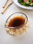 バルサミコ酢のドレッシング