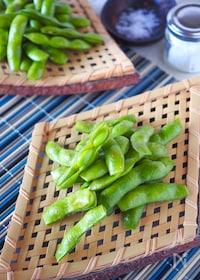『【保存版】豆が色良く甘くなる美味しい枝豆の茹で方』