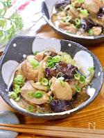 ポン酢で簡単!『鶏となすのさっぱり煮』