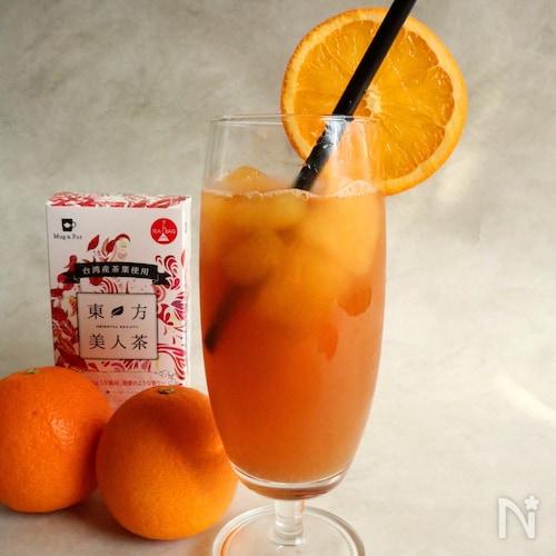 東方美人茶のカルダモンオレンジティー