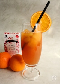 『東方美人茶のカルダモンオレンジティー』