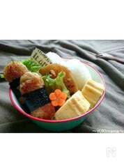 〜マヨめんつゆで★サラダスティックチーズのり巻きナゲット〜