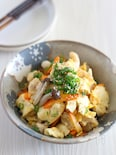 白だしで作る簡単炒り豆腐