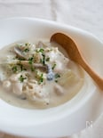 白菜と鶏ささみのクリームシチュー