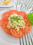 夏向けさっぱり!トマトとセロリのサラダ