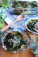 オイネング*わかめときゅうりの冷たい韓国スープ