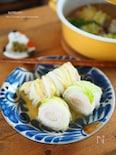 豚肉とえのき!くるくるロール白菜