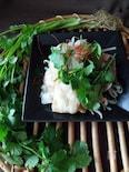 レンジで簡単『エスニック豚バラサラダ』