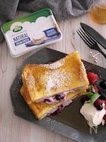 ブルーベリークリームチーズで!スタッフドフレンチトースト