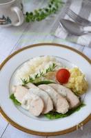 炊飯器で3品☆ハーブチキン&ポテトサラダ&ご飯が同時に完成!