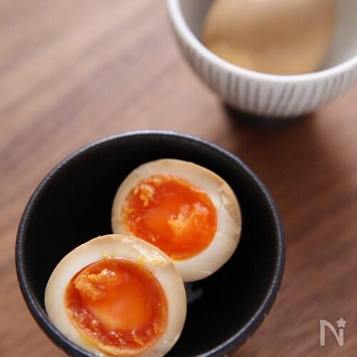 この味に行き着いた〜!半熟卵の味玉!