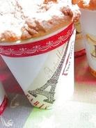 米粉キャラメルチップの紙コップシフォン♪