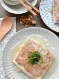だしの旨味たっぷり♡豆腐とひき肉のあんかけ重ね煮♡