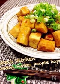 『コレだと子供もよく食べる♪もっちもち高野豆腐の照り焼き♡』