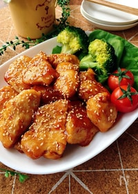 『スピード・おかず☆鶏肉の生姜照り焼き』