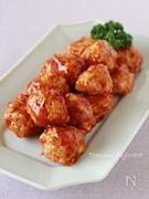 【鶏ひき肉】揚げないミートボール