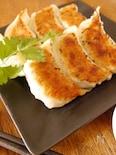 海老と鶏肉のパクチー餃子