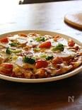 子どもが本当に食べる!野菜たっぷり餅ピザ