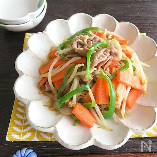 ごはんがススム☆お弁当にも◎肉野菜の味噌オイスター炒め