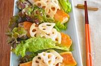 パリ&シャキ!野菜たっぷり贅沢春巻き