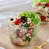 もち麦のカラフルサラダ