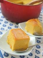 まるごとお鍋で☆かぼちゃの焼きプリン