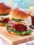 十勝ハーブ牛のパテと焼きカマンベールの夢のコラボハンバーガー
