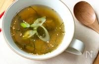 切り昆布の中華スープ