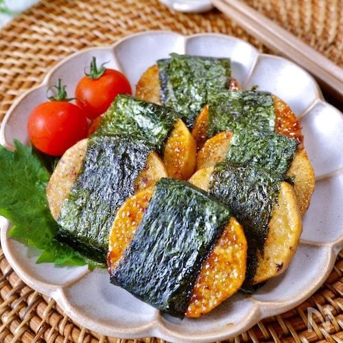 おうち居酒屋♪めちゃ旨!『ほくほく☆長芋の海苔巻きステーキ』