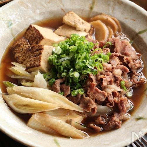 基本の肉豆腐(動画あり)