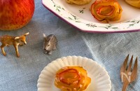 かわいいのに手軽に作れる!プレゼントにも喜ばれるバラのミニアップルパイ