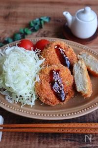 \豆腐入りでふわふわ/鶏メンチカツ