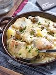 ワンパンde鮭とポテトの味噌チーズグラタン【#簡単 #時短】