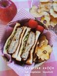 林檎ミルフィーユのバルサミコ酢カツサンド