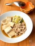 ほっこり和食♡我が家の肉豆腐