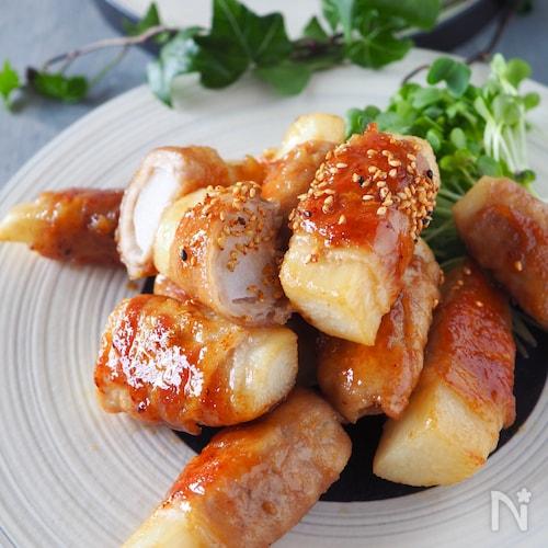 ご飯がススム!ホクホク長芋の豚肉ロール【#作り置き#お弁当】