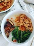 ささっと簡単で絶品!本格的な中華粥!