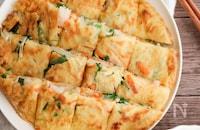 カリモチ!冷凍えびとたっぷり野菜のチヂミ
